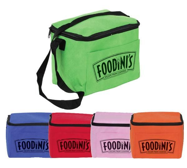 Promos4 Coolers Cans Bags Non Woven 6 Pack